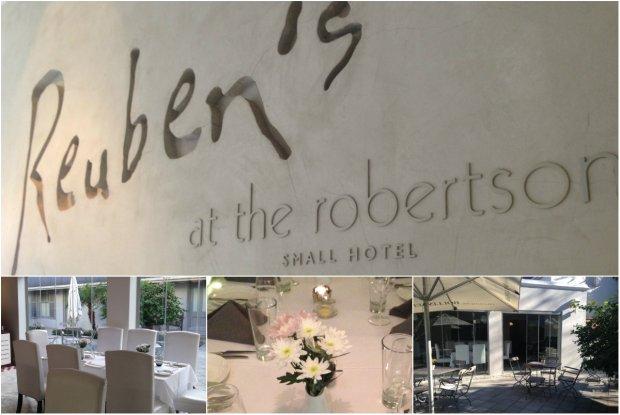 Reubens at Robertson Small Hotel