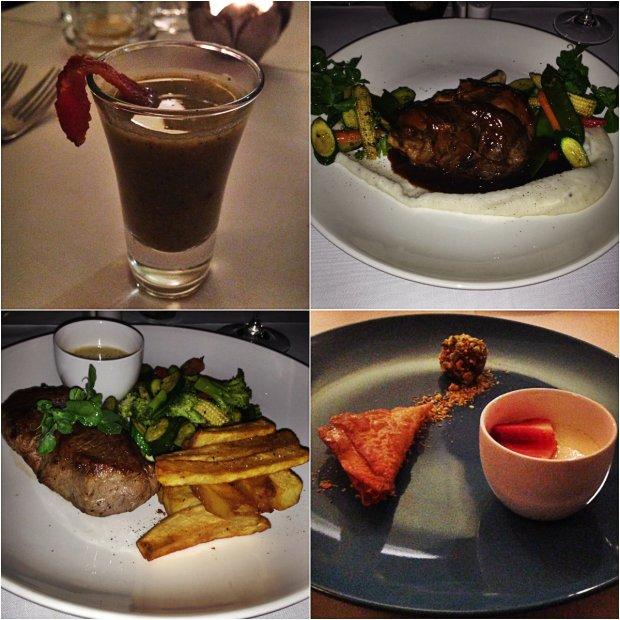 Robertson Small Hotel Dinner