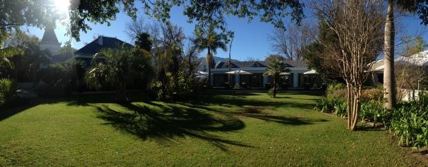 Robertson Small Hotel Gardens